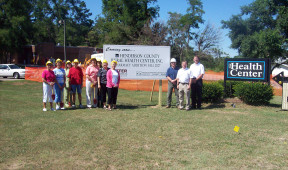 Henderson County Health Center - Pharmacy Addition Groundbreaking