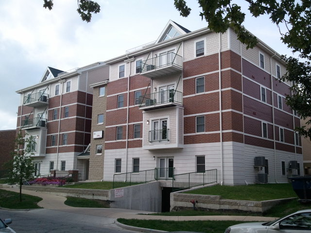 Campus Property Management's 5-story Student Housing Complex at UIC, Champaign, IL